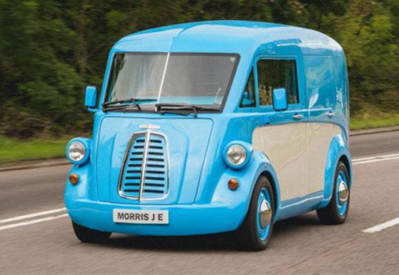 复古新风味,MORRIS JE纯电动轻型商用车正式登场