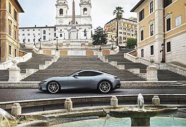 法拉利全新双座GT跑车Roma V8 Grand Tourer全球首发