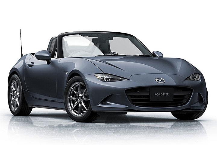 SCBS支援夜间行人侦测、增列Silver Top特式车,日规新年式Mazda MX-5登场